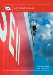 Annual report 2012 - PDF version - Wilh. Wilhelmsen ASA