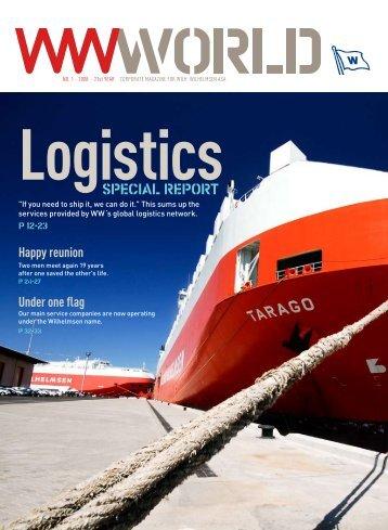 WW World 1-2008: Special report: Logistics - Wilh. Wilhelmsen ASA