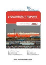 Q1 2012 report & presentation - Wilh. Wilhelmsen ASA