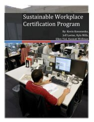 inable Workplace Certification Team - Graham Sustainability Institute