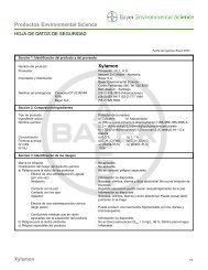 Productos Environmental Science - Grupo Español IIC
