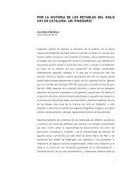 por la historia de los retablos del siglo xvii en cataluña: un itinerario.1