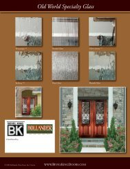 Old World Specialty Glass - Bevel King