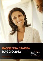 RASSEGNA STAMPA MAGGIO 2012 - LeasePlan