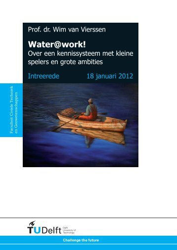 Water@work! - Jaarverslag 2012 - KWR Watercycle Research Institute