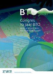 Congres 10 jaar BTO - KWR Watercycle Research Institute