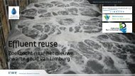 Effluent reuse and ASR - KWR Watercycle Research Institute
