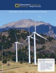 Fall 2008 - Graham Sustainability Institute - University of Michigan