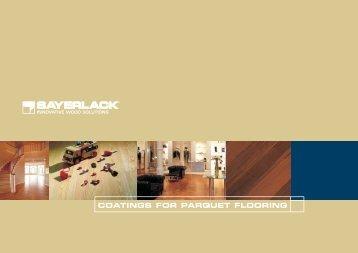 Sayerlack Parquet Flooring Coatings