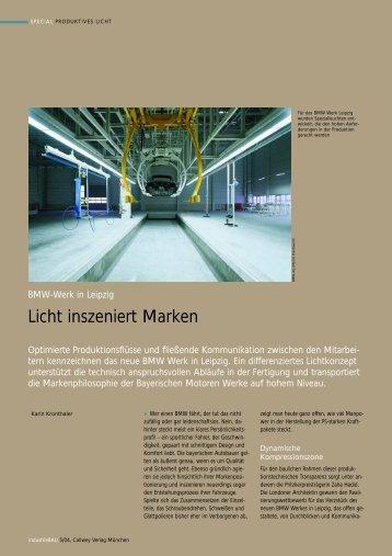 BMW-Werk in Leipzig - Planungsgruppe M+M AG