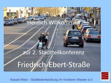 Belebung und Neugestaltung der Friedrich-Ebert-Straße - PGN