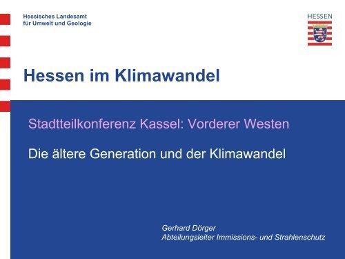 Hessen im Klimawandel