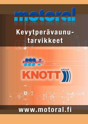 Kevytperävaunu- tarvikkeet www.motoral.fi - Motoral Oy