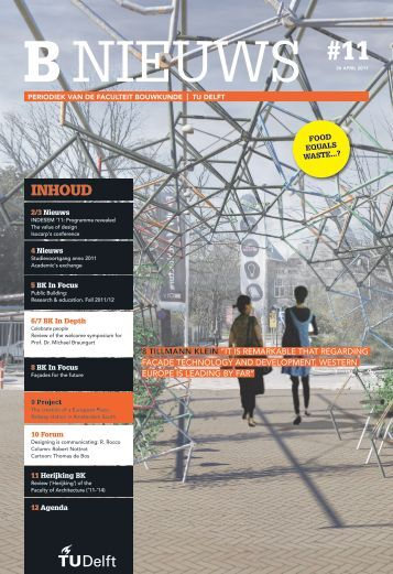 programme revealed - TU Delft
