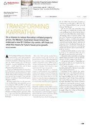 Transforming Karratha