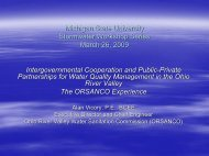Michigan State University Stormwater Workshop Series March 26 ...