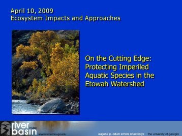 Presentation by Laurie Fowler - MSU Center for Water Sciences