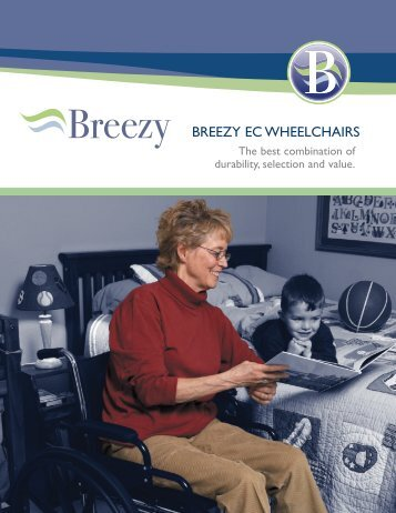 Breezy® EC Wheelchairs Brochure - Sunrise Medical