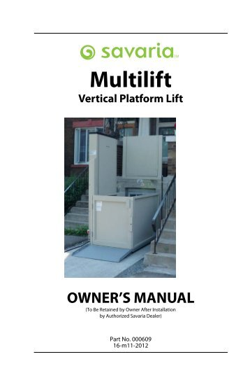 multilift vertical platform owners manual savaria?quality=85 savaria magazines on savaria multilift wiring diagram