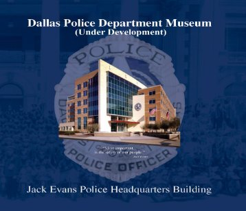Click Here to Download Brochure - Dallas Police Department