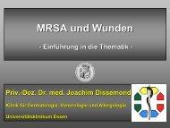 MRSA und Wunden - Phametra