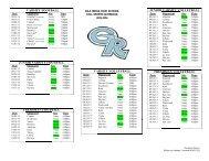 gila ridge high school fall sports schedule 2013-2014 freshman ...