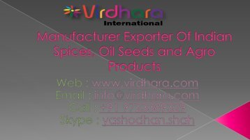 Virdhara International