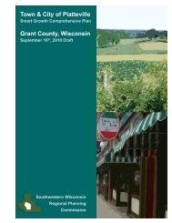 Comprehensive Plan Update - City of Platteville