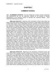 Chapter 02 – Common Council - City of Platteville