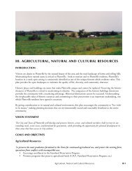 iii. agricultural, natural and cultural resources - City of Platteville