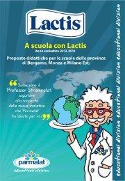 Lactis, promuove per l'anno scolastico 2012/2013 il concorso didat