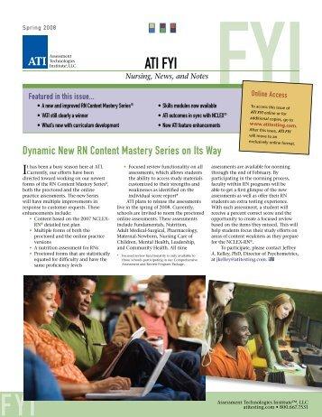 ATI FYI - ATI Testing