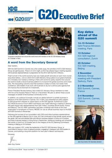 Issue No. 3- October 2011 - ICC India