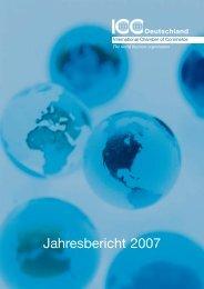 Jahresbericht 2007 Download - ICC Deutschland
