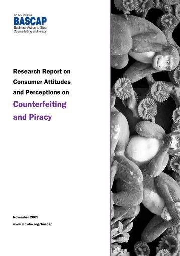 Counterfeiting and Piracy - International Chamber of Commerce