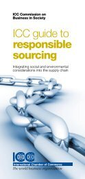 ICC guide to responsible sourcing - International Chamber of ...