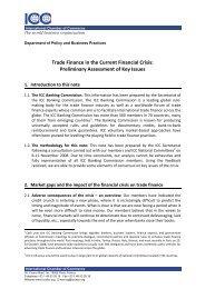 Trade Finance in the Current Financial Crisis ... - ICC Deutschland
