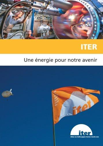 Livret d'information [pdf] - iter france