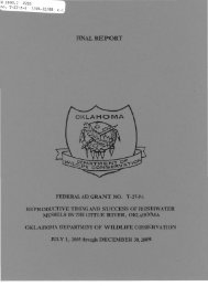1 - Oklahoma Department of Wildlife Conservation