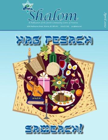 Shalom Newsletter - JCC Victoria