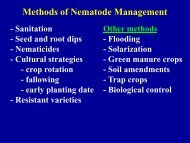 MANAGEMENT OF PLANT PESTS WITH SOIL FUMIGATION