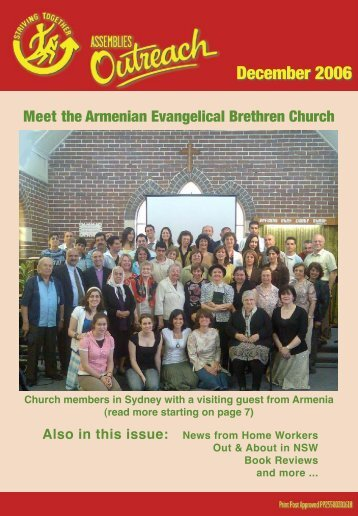 Assemblies Outreach Magazine - Christian Brethren in NSW