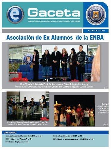 DESCARGAR eGACETA 29 - Escuela Nacional de Biblioteconomía ...