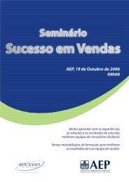 seminário sucesso em vendas - AEP