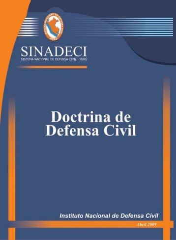 doctrina de defensa civil - Biblioteca Virtual en Prevención y ...