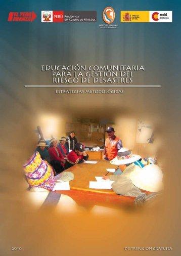 Contenido - Biblioteca Virtual en Prevención y Atención de Desastres