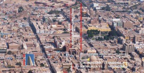 Tapa Y Contratapa Vista General De La Ciudad De Ica