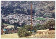 usos del suelo y medidas de mitigación – ciudad de huaraz