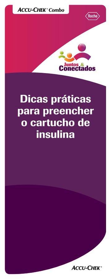 Dicas práticas para preencher o cartucho de insulina