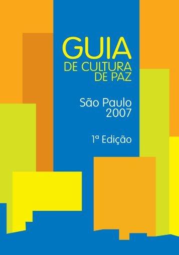 DE CULTURA - Comitê da Cultura de Paz